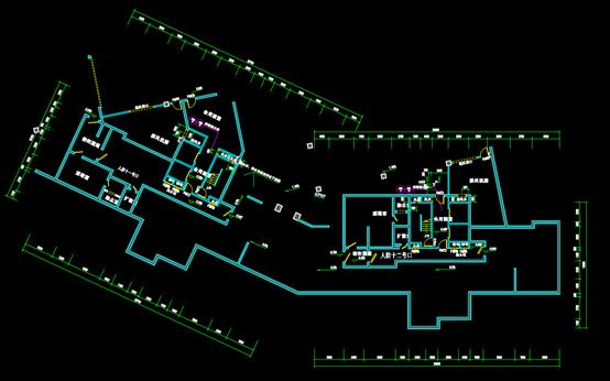 葛洲坝华庄的CAD电气工程制图