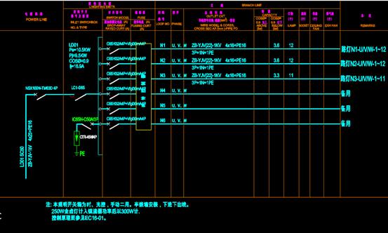 危化库值班室的CAD电气工程图