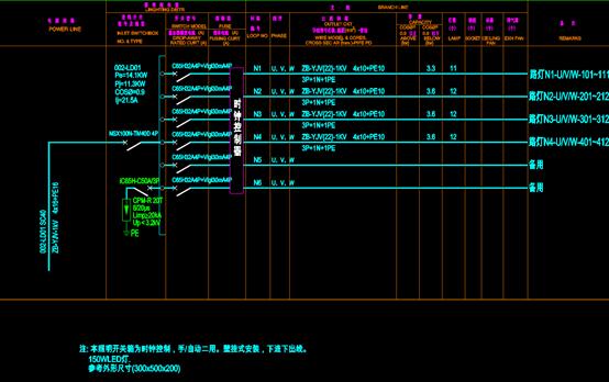 CAD电气工程图