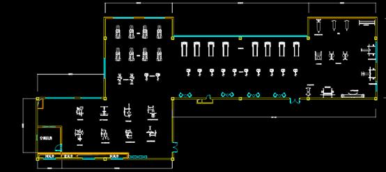 网床组合件CAD机械设计图纸