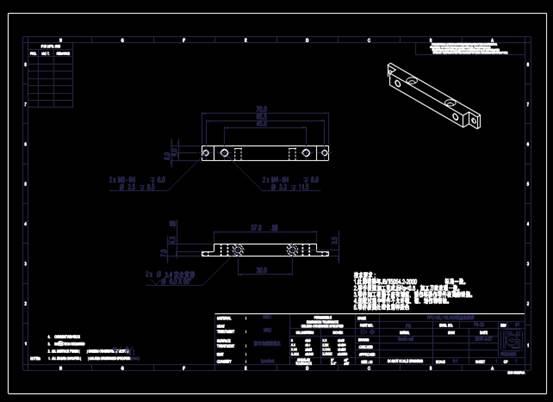 CAD机械零件之常用机械零件CAD图纸设计
