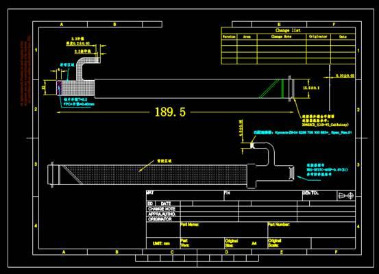 CAD机械零件之液晶显示器触控面板设计