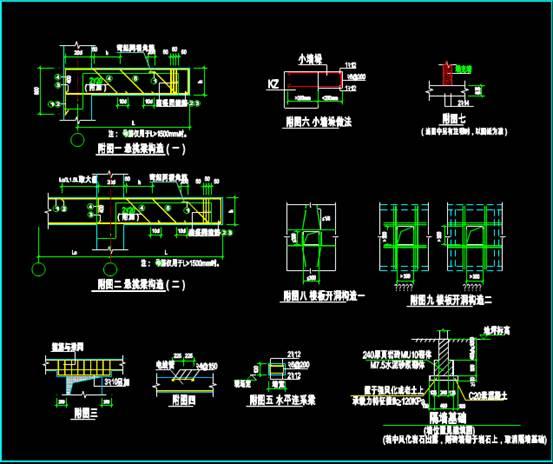 结构图设计CAD之厂房设计