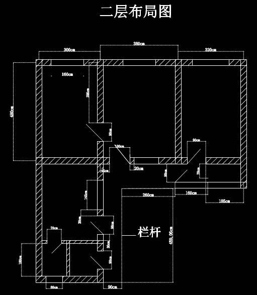 结构图设计CAD之围墙设计