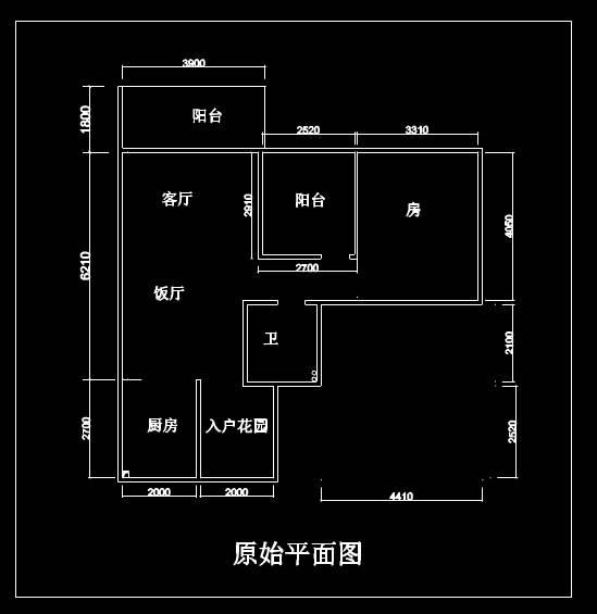 CAD家装图库之室内装修图