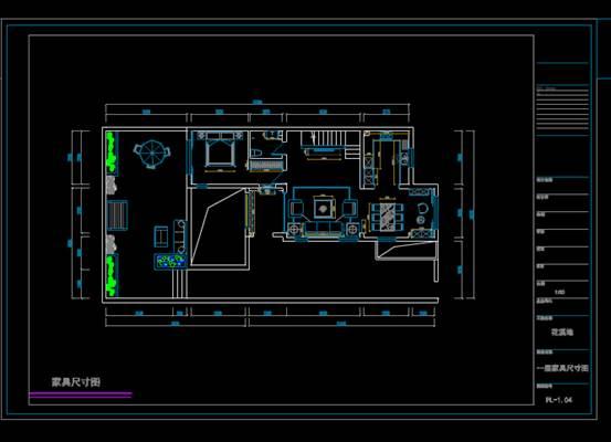 CAD家装图库之电气图全套设计