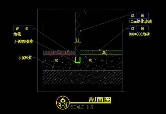 CAD建筑绘图的节点图