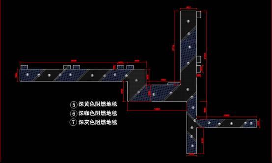 建筑装饰CAD图之尺寸示意