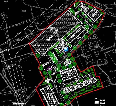 某包装厂平面规划CAD绘制户型图