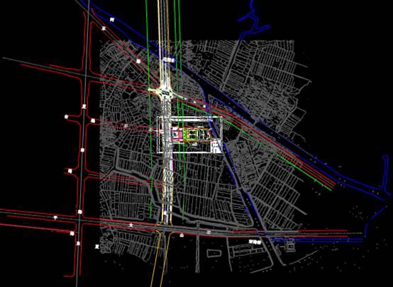 公交综合体设计CAD绘制户型图