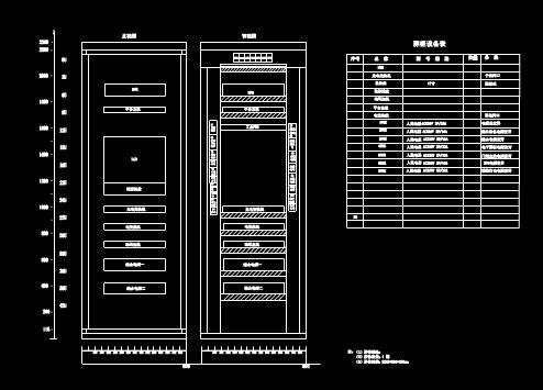 智能辅助控制屏柜图CAD绘制户型图