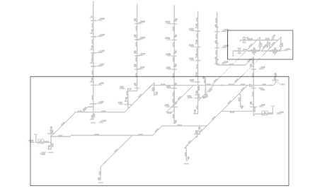 CAD建筑图纸中室内消火栓施工图