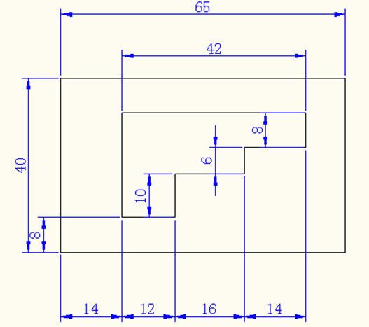 CAD绘制图纸实例练习题