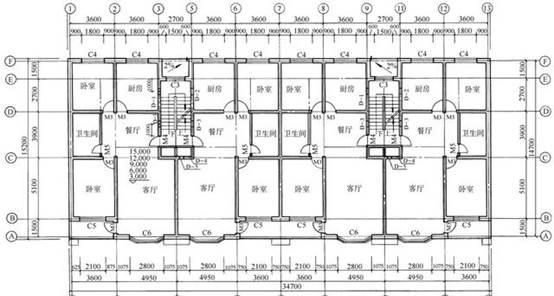 CAD建筑平面图中要点汇总