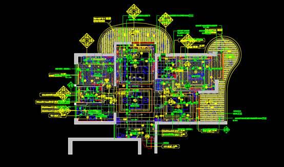 住宅户型设计深化CAD施工图