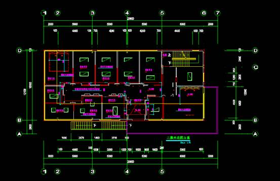 CAD机械设备图纸之办公室CAD图纸