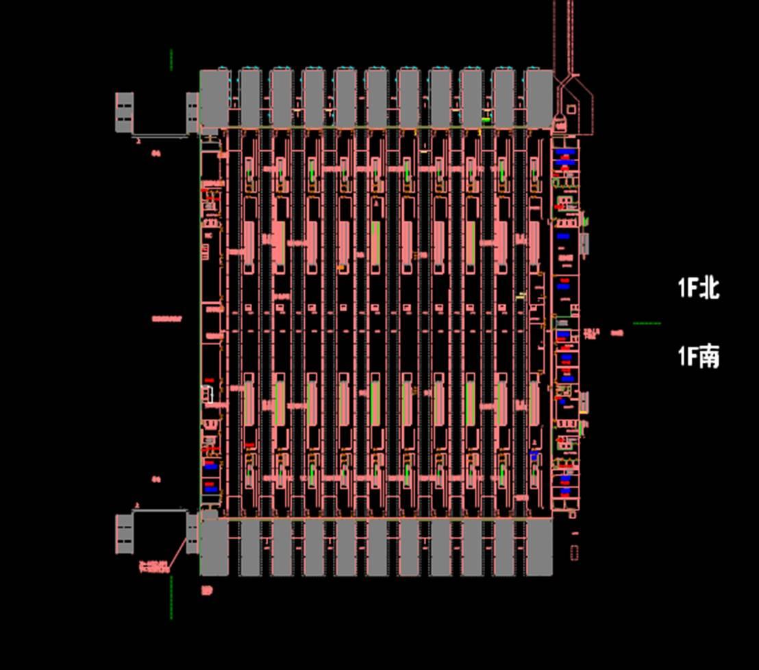 交通建筑一层CAD建筑设计图