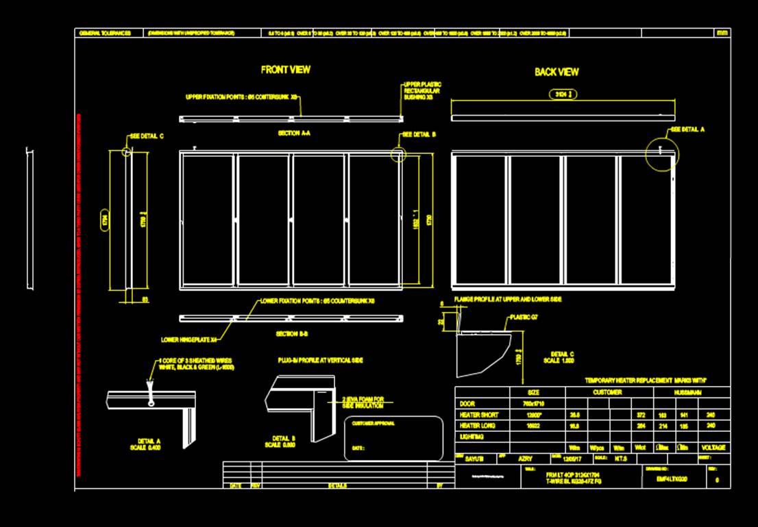 室内设计CAD平面室内图纸