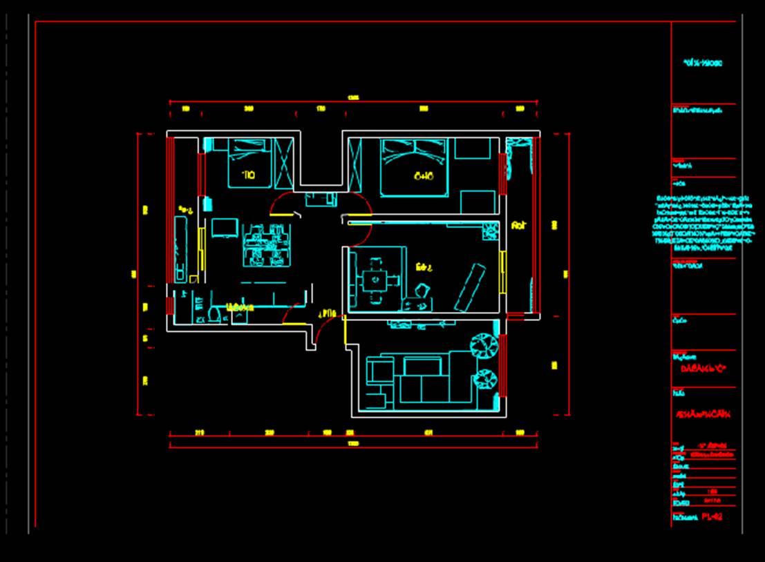 平面系统图室内设计CAD网站