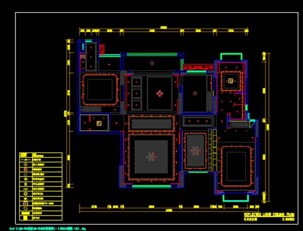 平面图室内设计CAD平面室内图