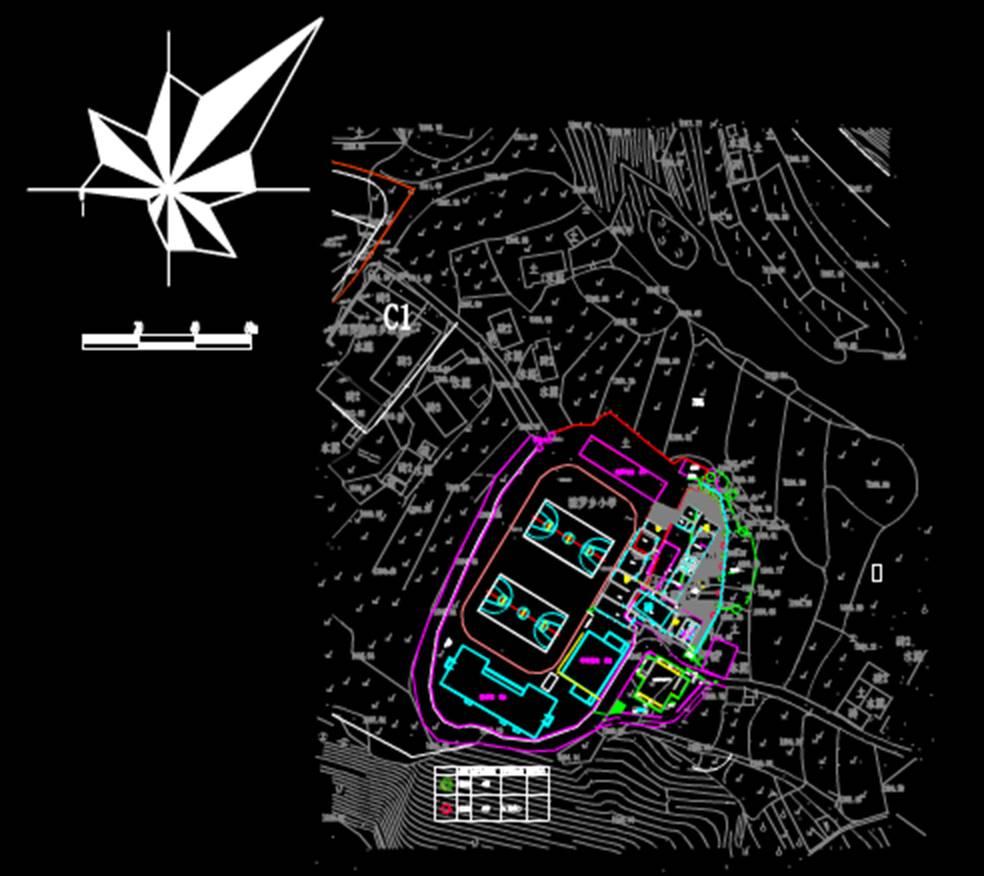 城市规划CAD平面图之公厕