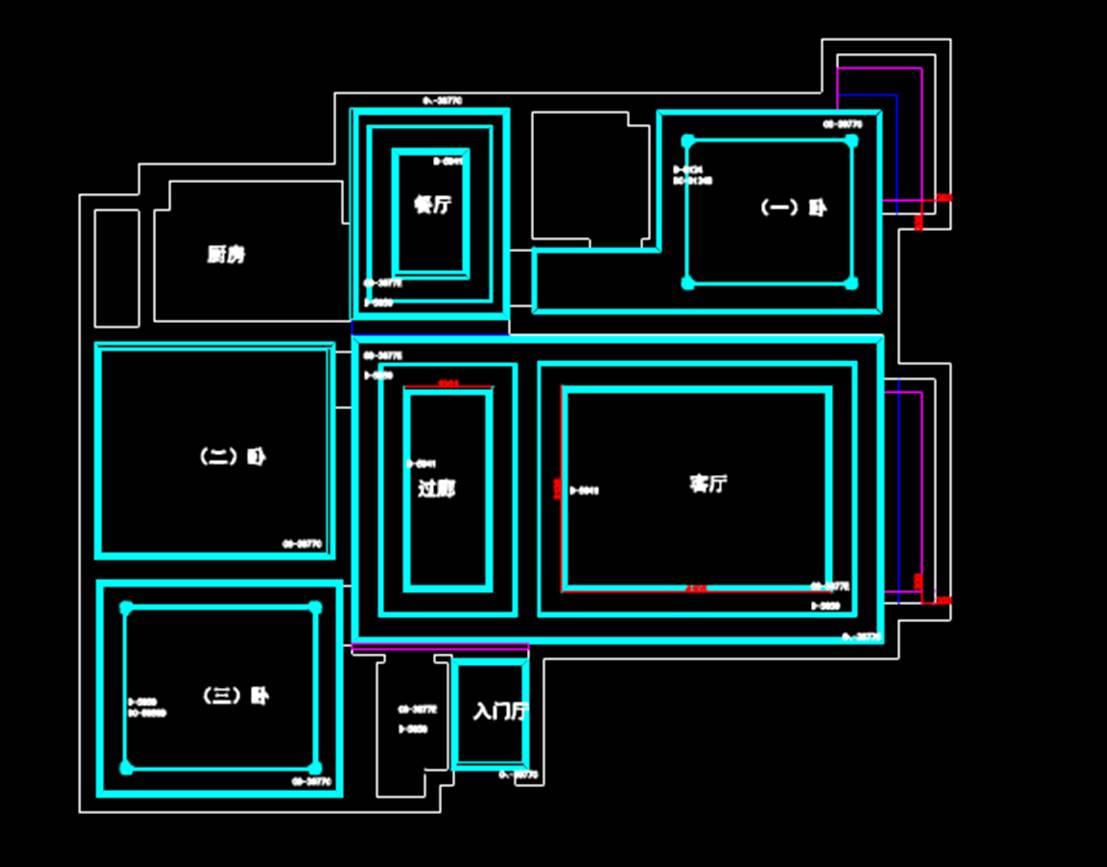 室内设计CAD网站之户型设计