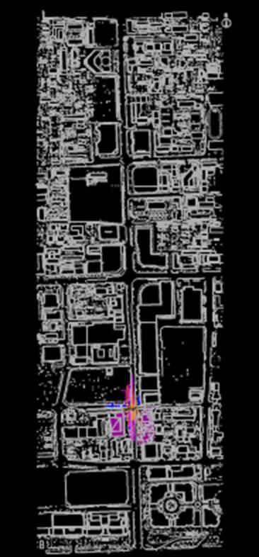 某地区城市规划设计CAD图纸