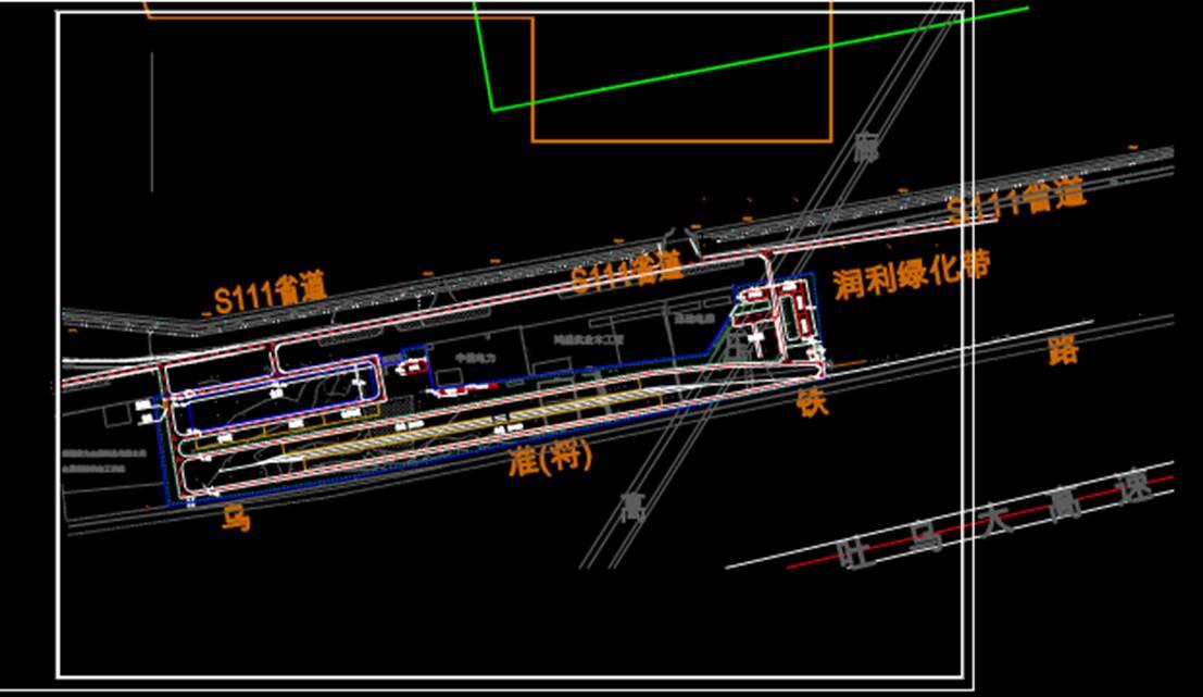 城市规划设计CAD图纸之道路设计