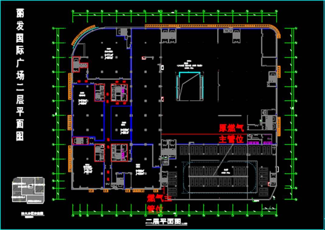 某商业楼CAD图纸设计