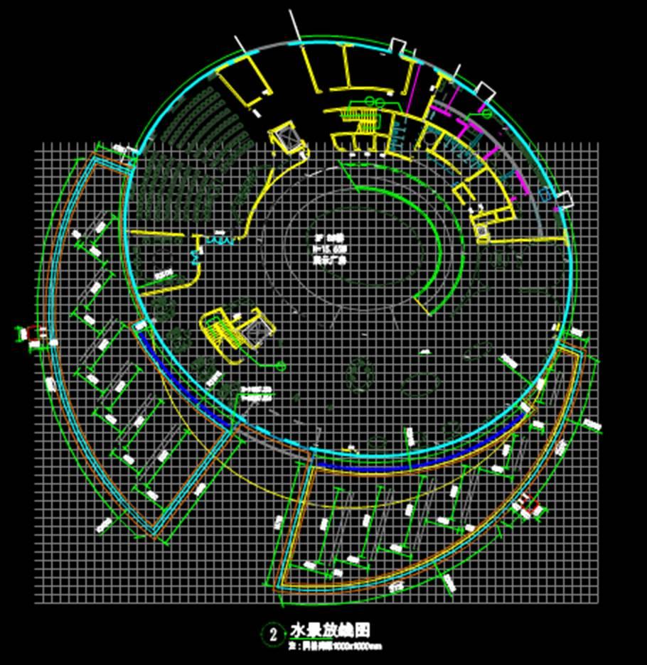 CAD景观材料中的相关图纸