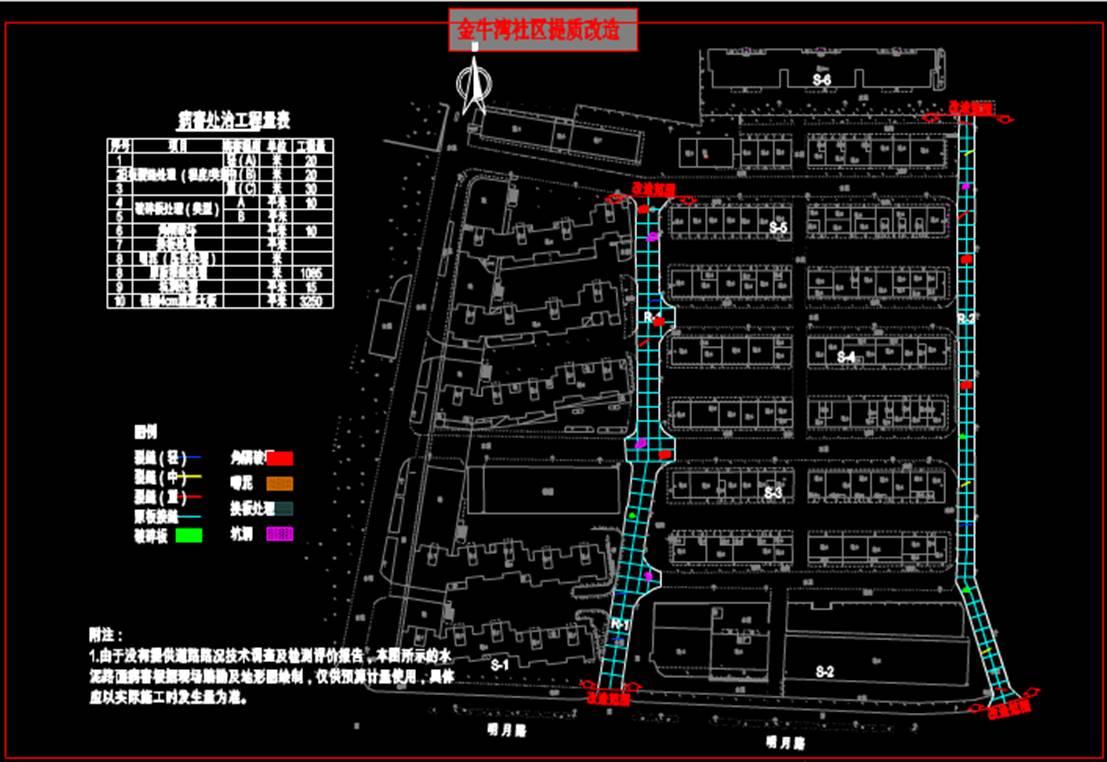 社区提质市政CAD图纸