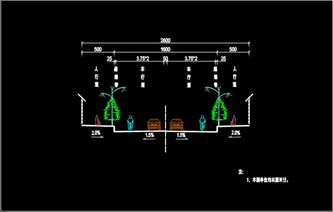 路基标准市政CAD图纸