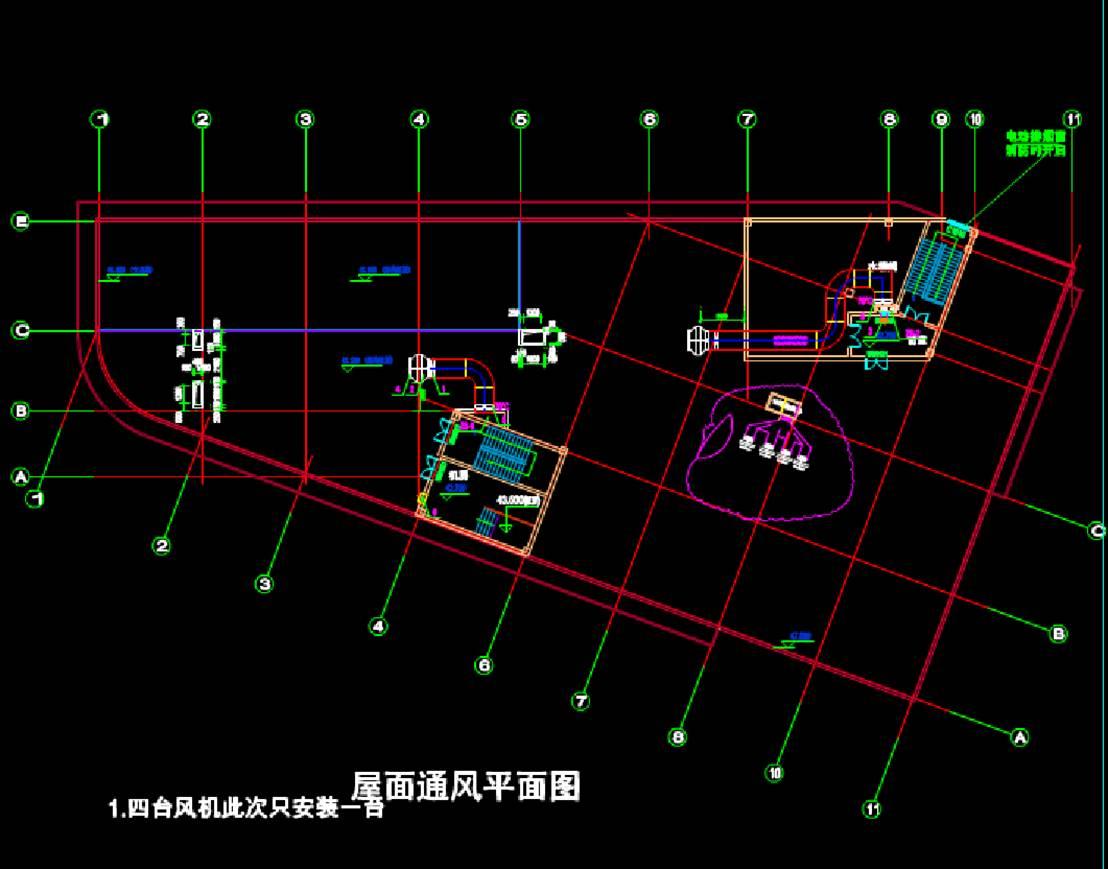 某个立体停车场建筑设计CAD图纸