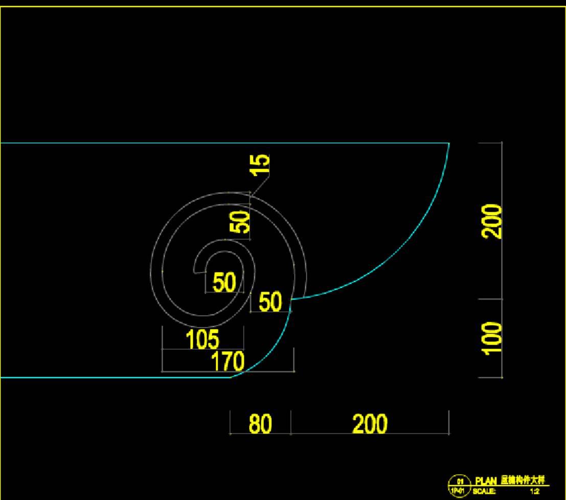 某建筑设计CAD图纸配件