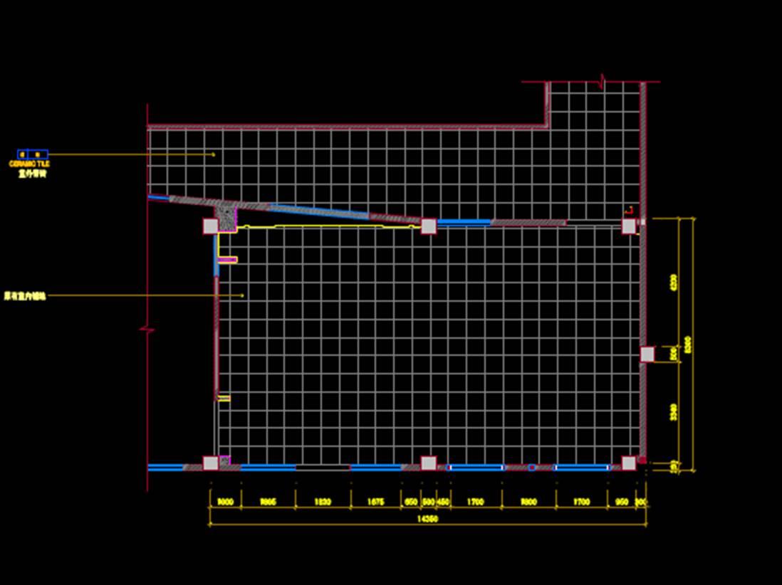 家具店室内设计CAD平面