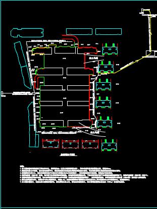 某工程基坑排水CAD图