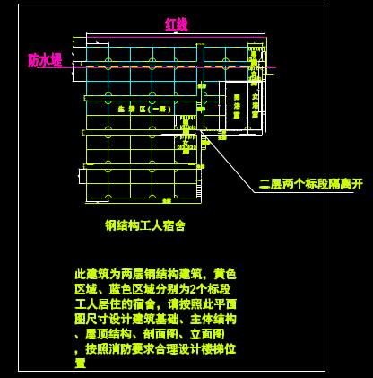 CAD室内设计图库大全之生活办公布置图
