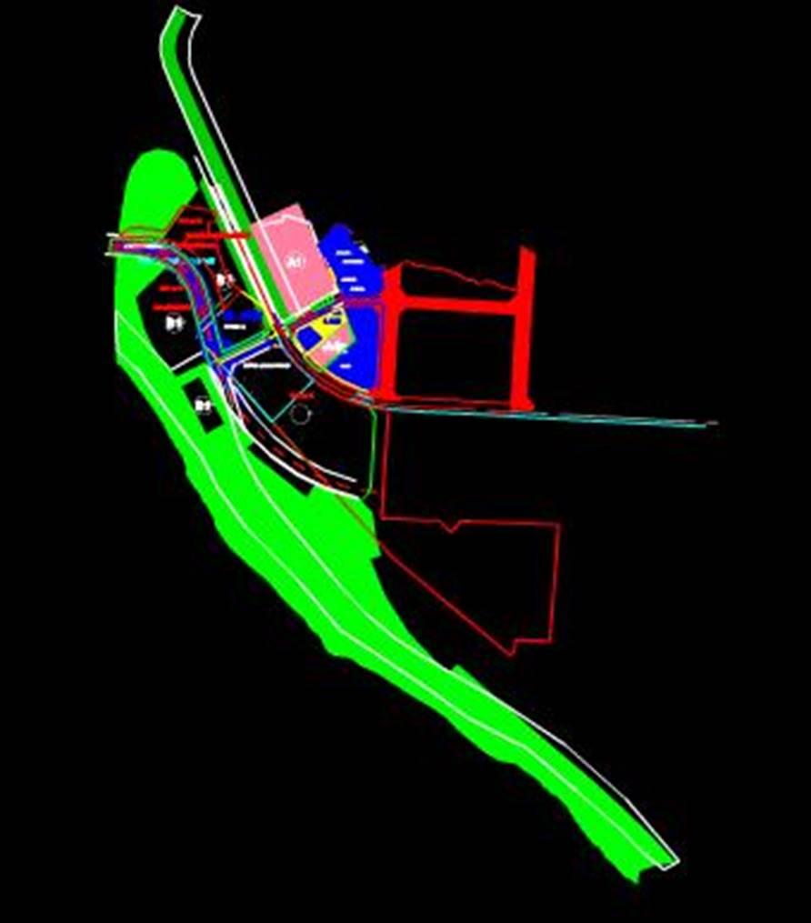李佳美安置地的办公楼CAD规划图