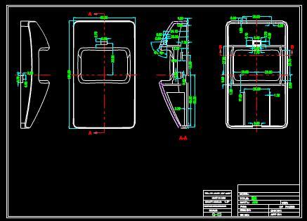 微波双鉴的CAD机械设计图纸