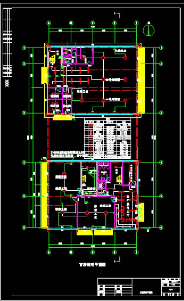 某4S店配电图CAD标准电气图纸