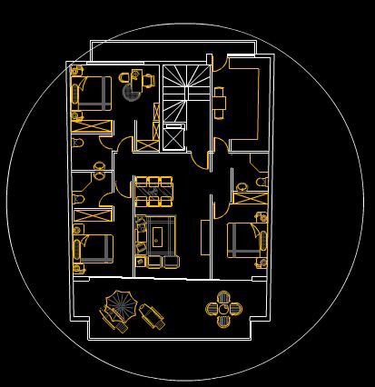 装修方案图室内设计CAD绘图