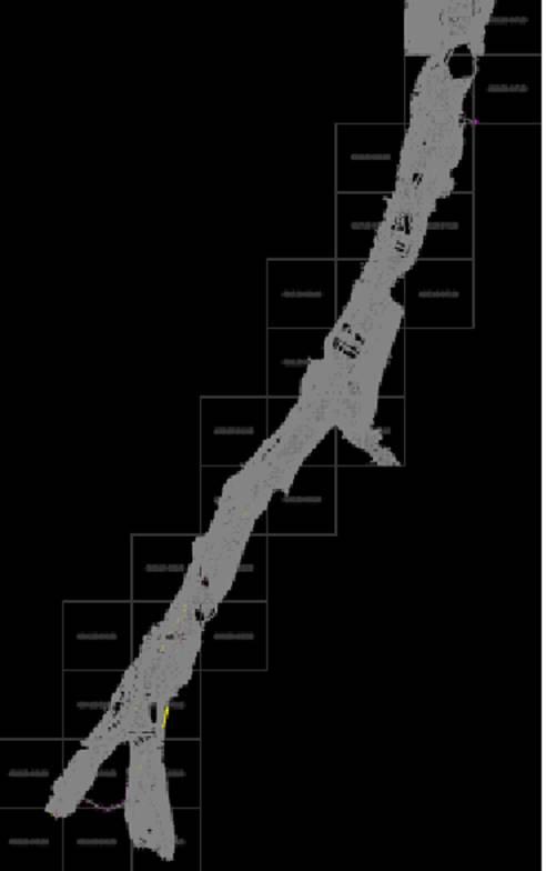 南泥湾九龙泉片区总图CAD道路交通
