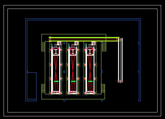 机械CAD图纸怎么看之压滤机车间平面布置图