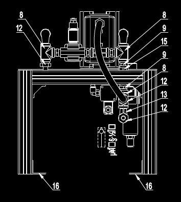 某工厂机器的CAD机械设计图纸