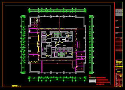 某商场的CAD建筑平面设计图纸