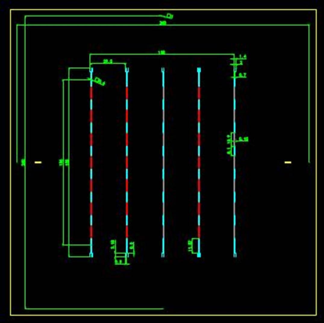 某公司生产的零件的CAD平面设计图