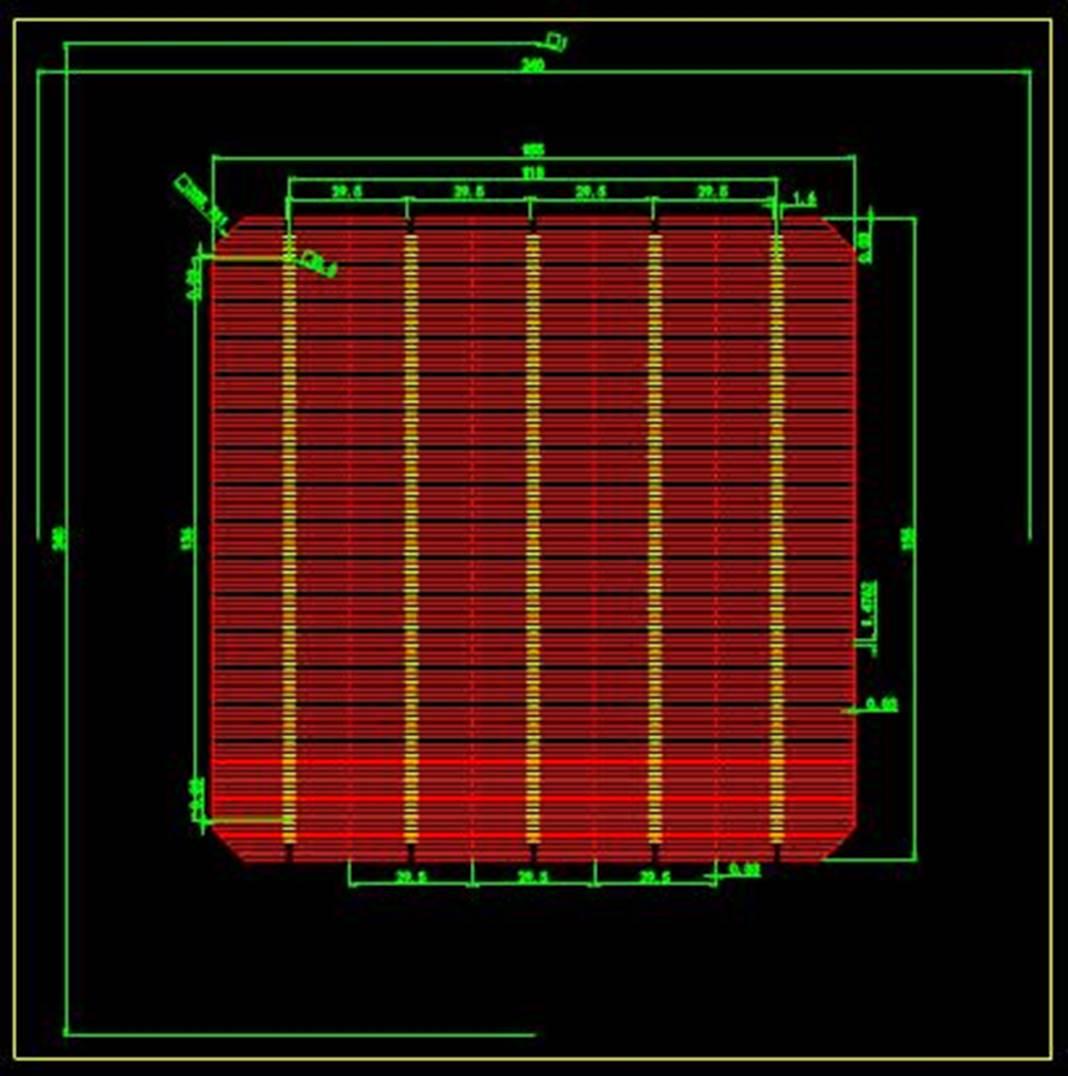 某公司生产零件的CAD机械设计图纸