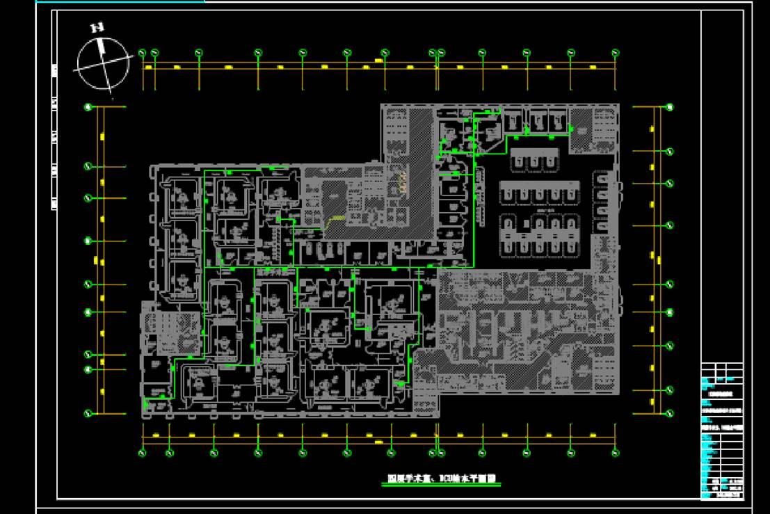 某手术室CAD给排水施工图