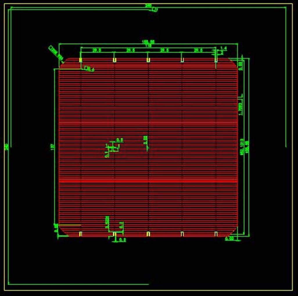 某工厂零件的CAD平面设计图