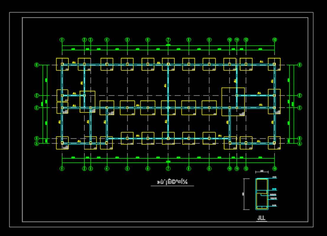 建筑结构设计CAD图纸基础